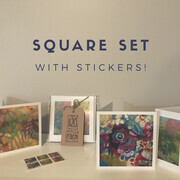 SQUARE CARD SET