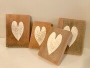 Wooden Heart Decor